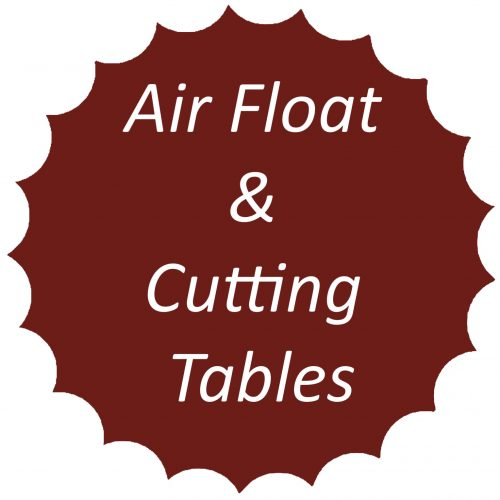 Air float and cutting tables